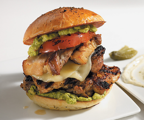 Chipotle Grilled Chicken With Avocado Sandwich Recipe ...