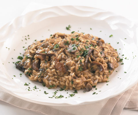 Risotto With Leeks, Shiitake Mushrooms, And Truffles ...