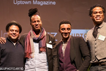 Raymond Mohan, Karl Williams, Marcus Samuelsson and Charles Hardwick. Photo: Cheryl Lathan
